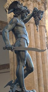 Cellini's Perseus: right side