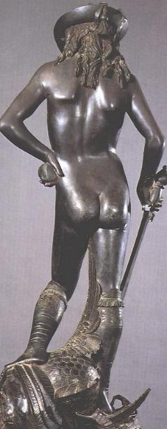 Donatello's David: back side