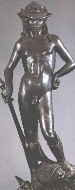 Donatello's David: front side