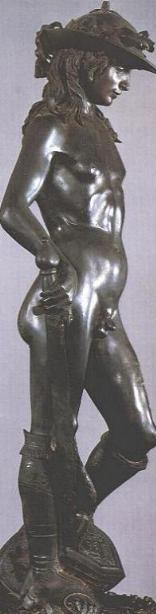 Donatello's David: right side