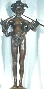 Frederick Macmonnies - Pan of Rohallion statuette, front view