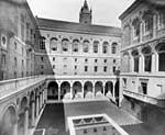 Courtyard of the Boston Public Library
