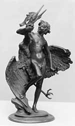 Frederick MacMonnies, Young Faun with Heron