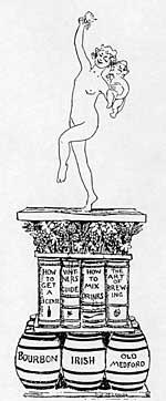 A Suggestion for a Pedestal for the Bacchante