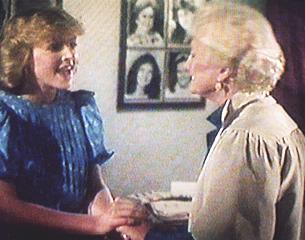 Brenda pleads with Mrs Benjamin
