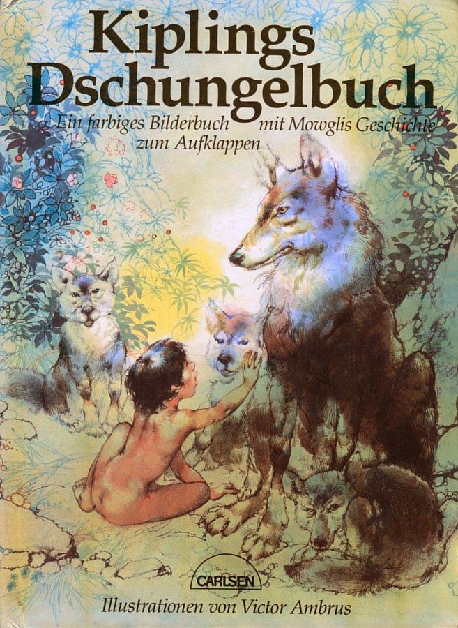 Jungle Book Cover Art : Jungle book cover art page