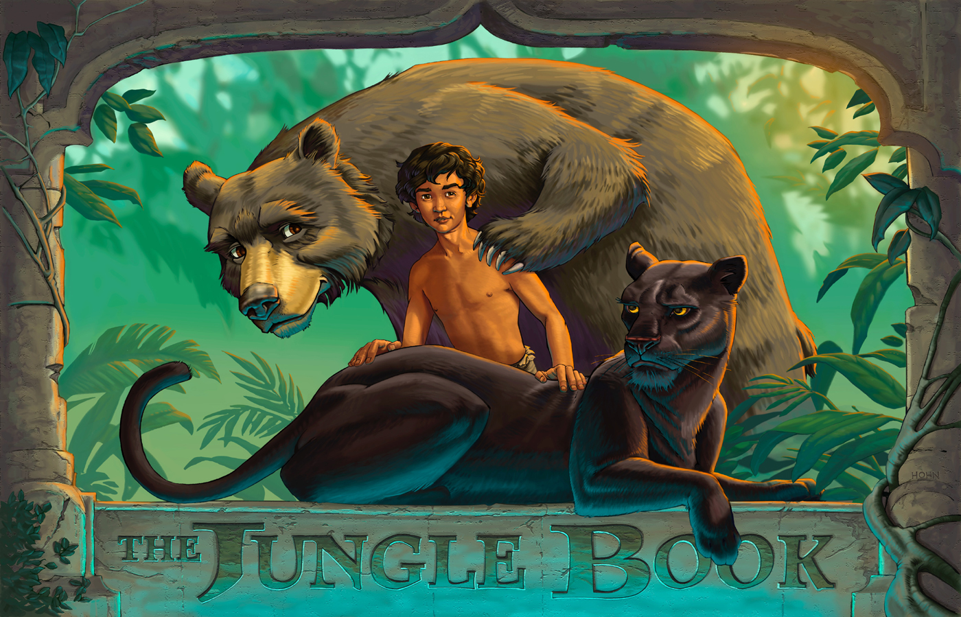 Ready help Jungle book cartoon porn apologise, but