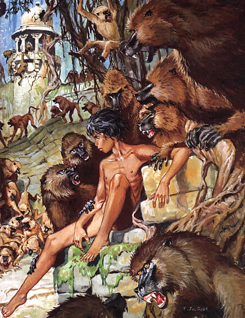 book naked Jungle mowgli